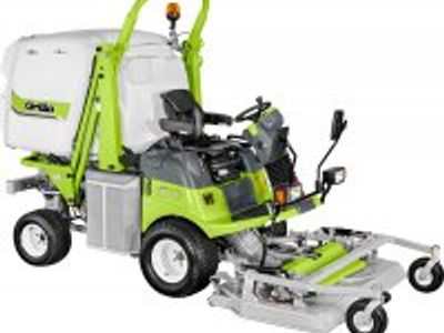 Outfront mowers with or without collection