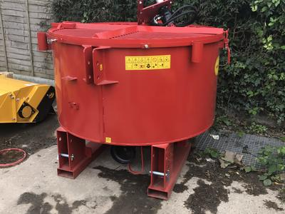Concrete Pan Mixer