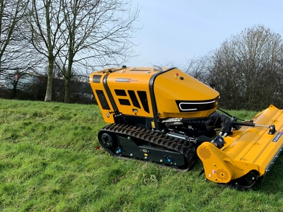 Robocut - high preformance slope mower.